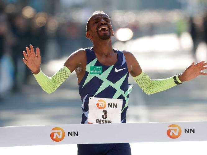 Belg Bashir Abdi stunt in Rotterdam Marathon met Europees record