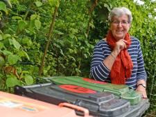 Lidy Handgraaf uit Borne: 'Afval scheiden lukt prima, maar hoe paste alles vroeger toch in een metalen emmer?'