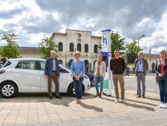 Eerste mobipunt in Tienen voorziet duurzame deelwagens