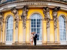 Máxima haalt grapje uit met Willem-Alexander tijdens bezoek aan Potsdam