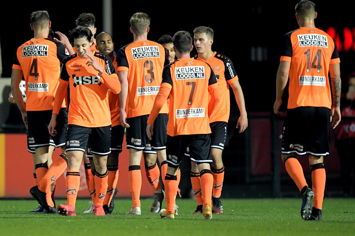 FC Volendam-spelers.