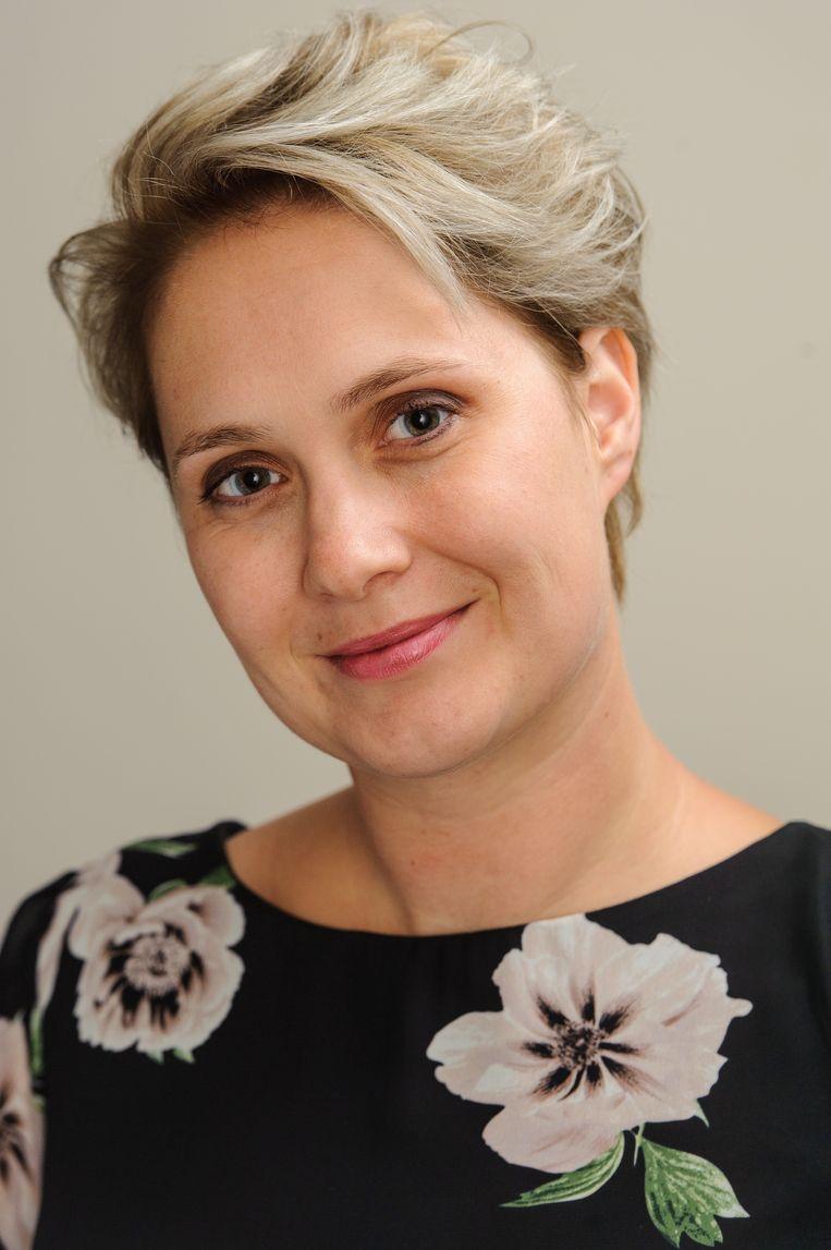 Patricia de Ryck schreef een boek over en voor twijfelmoeders. Beeld Michiel Mijdam
