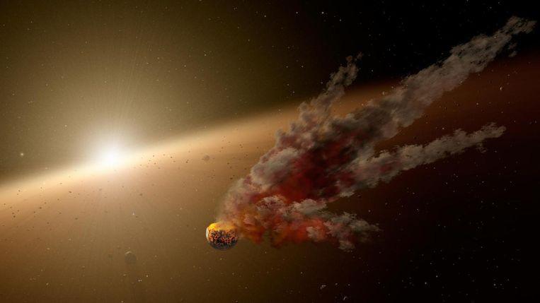 Impressie van Tabby's ster. Beeld NASA