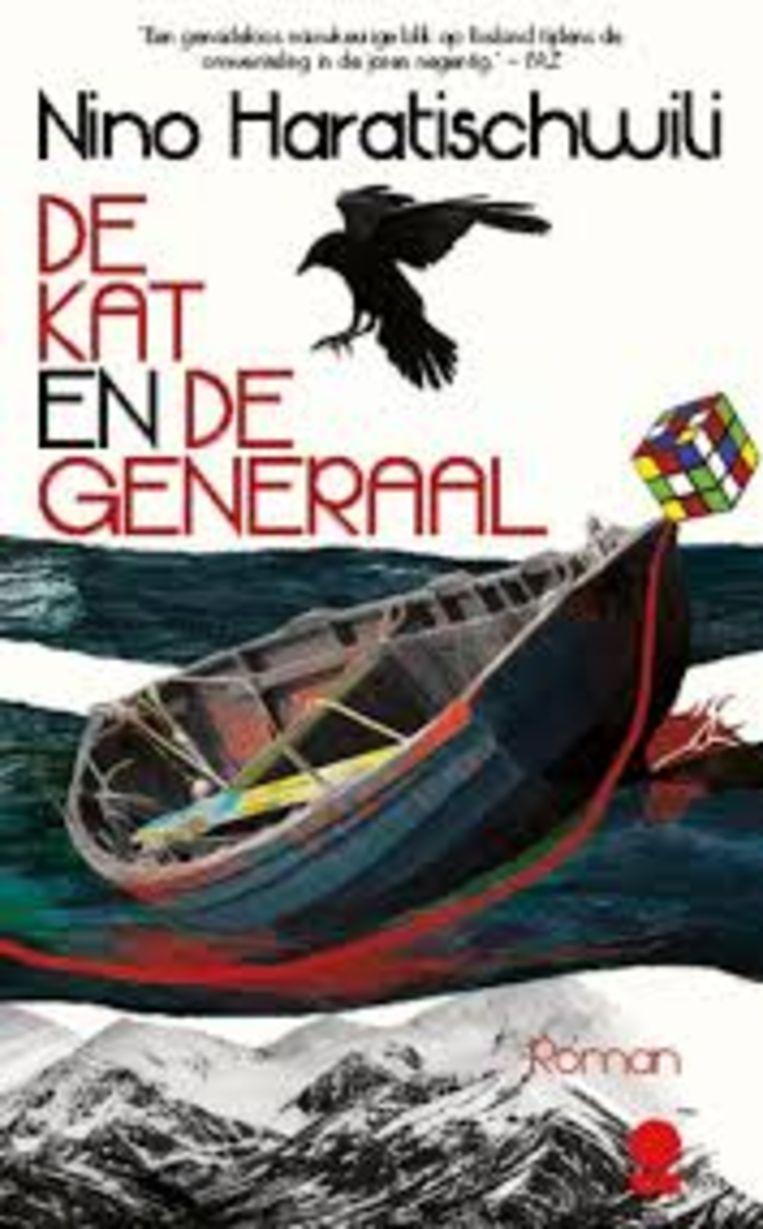 Boekentip: Nino Haratischwili: De kat en de generaal. Beeld Meridiaan Uitgevers