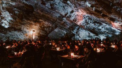 150 quizzers, zo'n 150 meter onder de grond: eerste 'Game Of Thrones'-festijn in Grotten Van Han was een succes