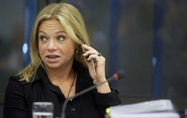 De burgers rond de vliegvelden zouden het gebrul van de JSF wat meer als de 'sound of freedom' moeten zien, zei Jeanine Hennis-Plasschaert. Beeld null