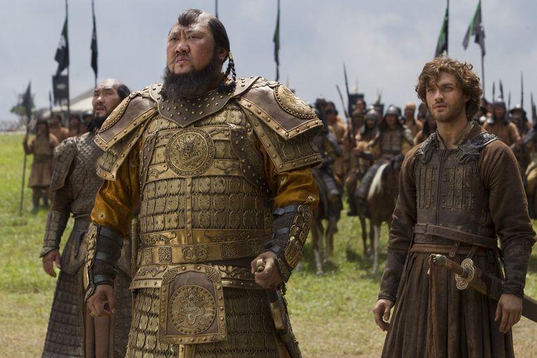 Historisch drama Marco Polo, een van de duurste series van Netflix.  Beeld netflix
