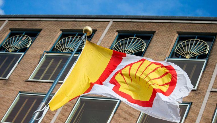 Het hoofdkantoor van Shell Beeld ANP