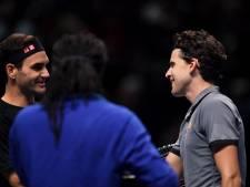 Thiem stunt met zege op Federer bij ATP Finals