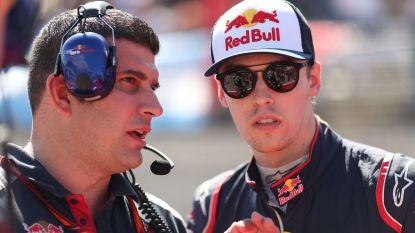 Daniil Kvyat keert in de Formule 1 terug naar Toro Rosso