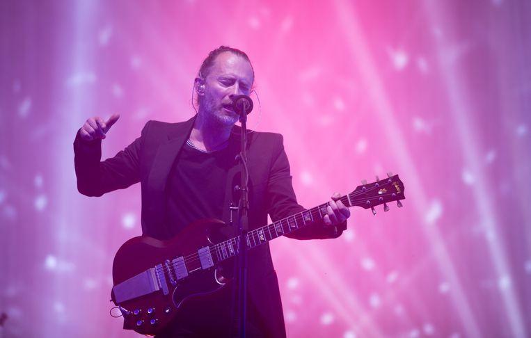Thom Yorke van Radiohead. Beeld Getty Images