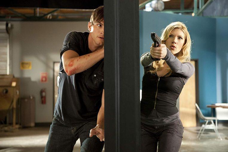 Ashton Kutcher en Katherine Heigl in Killers van Robert Luketic. Beeld