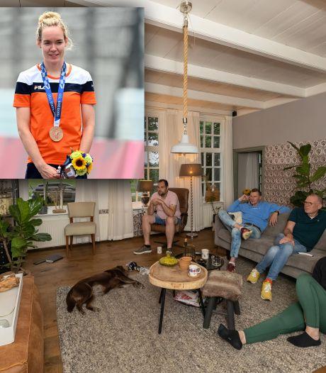 Familie Van der Breggen in Hasselt ziet Anna in Tokio brons halen: 'Kom nu maar lekker naar huis, meid'