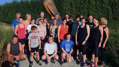 21 deelnemers halen eindstreep start to run