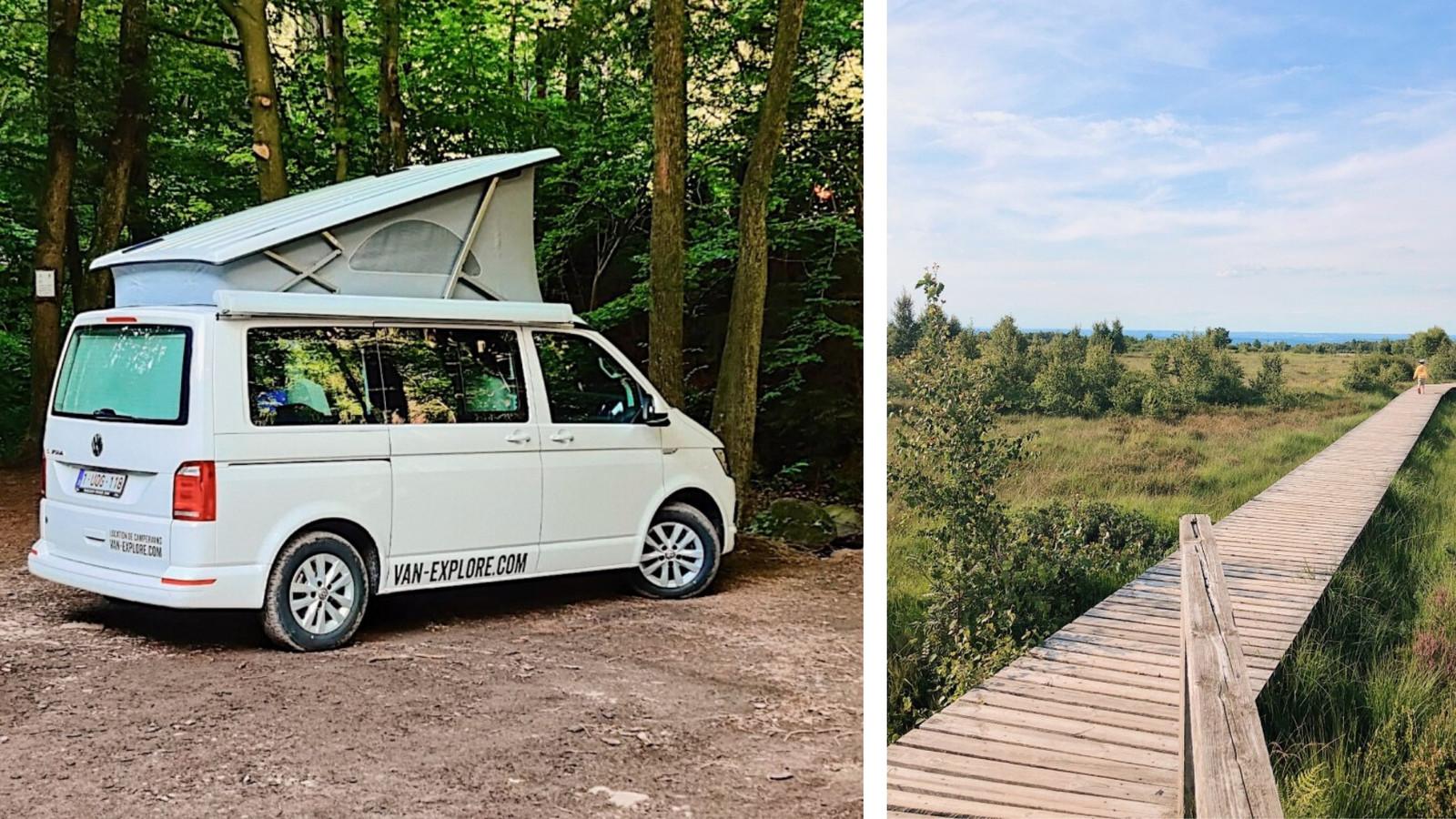 Le road trip en van aménagé n'est pas seulement réservé aux grands espaces californiens ou australiens...