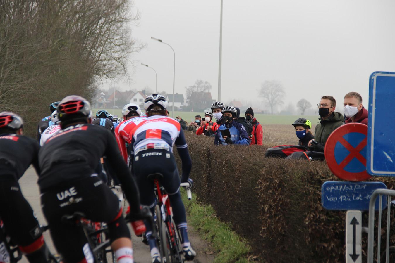 De Omloop 2021: Den Ast in Oudenaarde.