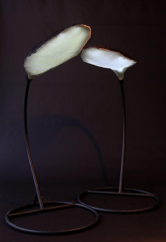 Werk van JVDW:  Leaf light double Beeld TRBEELD