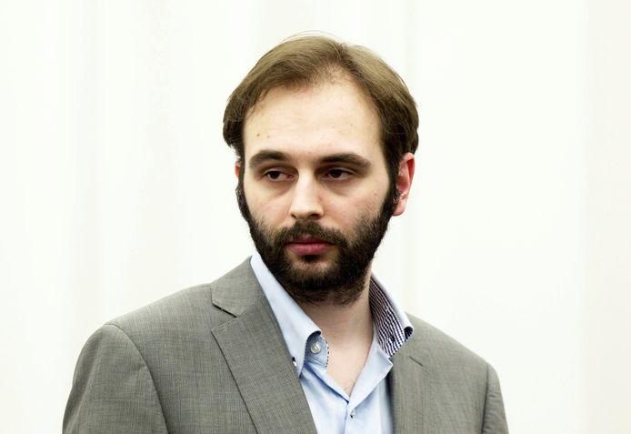 Kim De Gelder in 2013 tijdens zijn assisenproces.