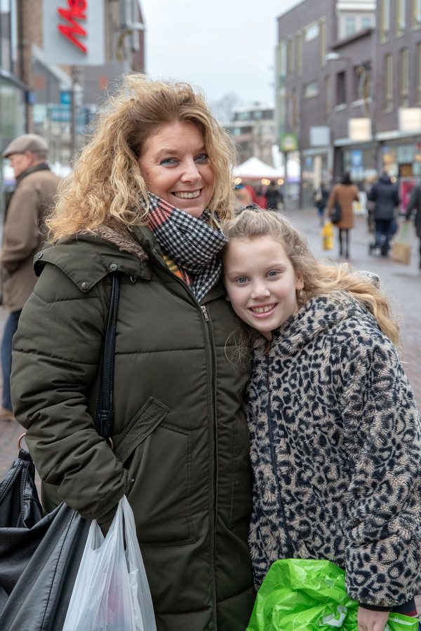 Lieselot Top met moeder Claudia.