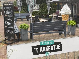 Reuzenijsco eethuys 't Akkertje is weer terecht: koppel vindt hoorntje in sloot tussen Geffen en Nuland