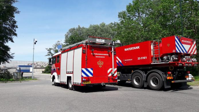 De brandweer in Son en Breugel.