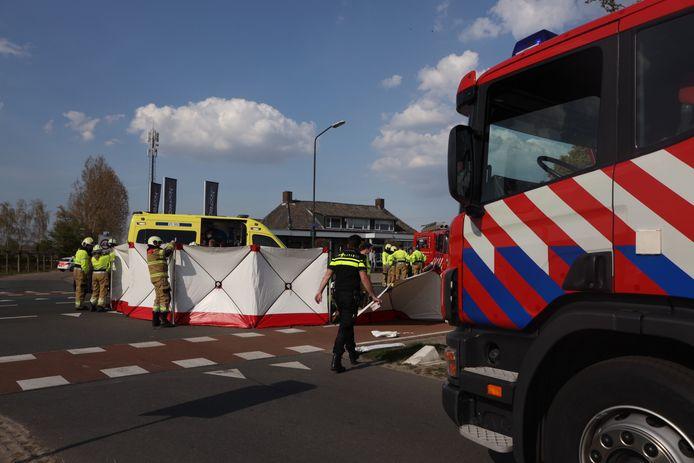 Ongeluk tussen fietser en auto op Boxtelseweg in Schijndel.