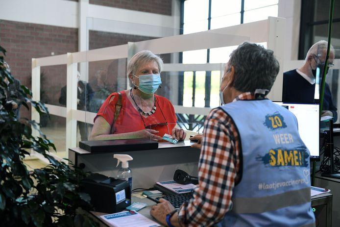 Vaccinatiecentrum Brabanthal.
