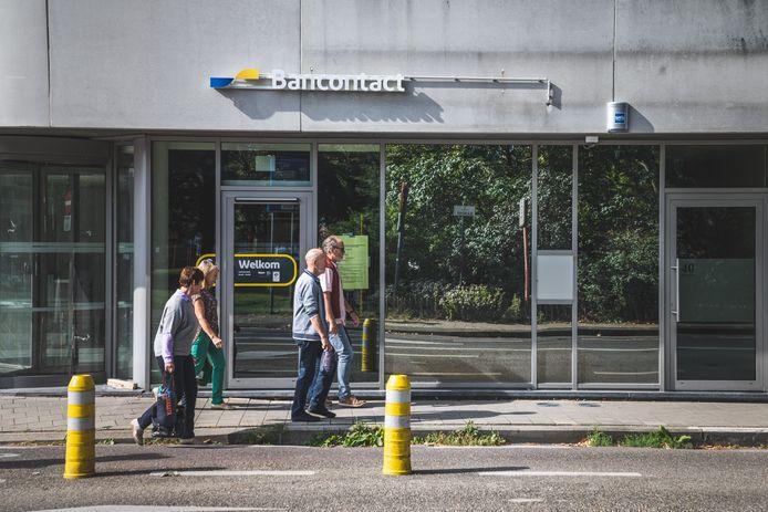 De eerste  'bankneutrale' geldautomaat van Gent is te vinden aan het Bijlokehof.