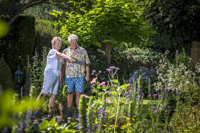 Vier bijzondere tuinen met kunst waren zaterdag te bezichtigen, waaronder die van Monique en Wim Verdaasdonk.