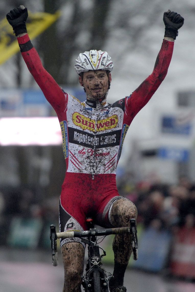 Kevin Pauwels triomfeerde net als vorige week in Kalmthout. Beeld PHOTO_NEWS