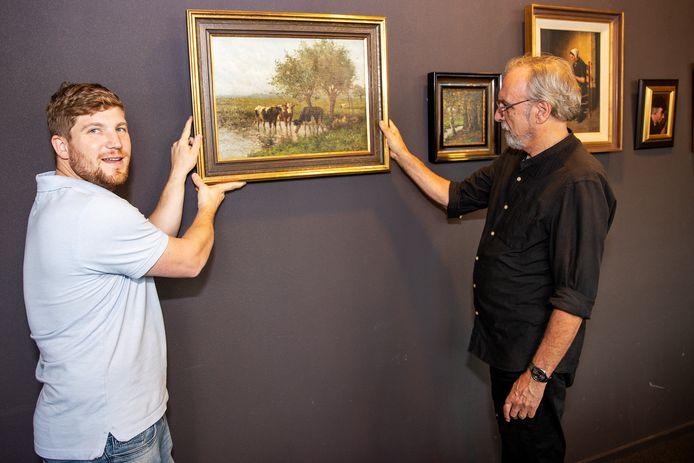 Wethouder Davy Jansen (links) en John van Lierop