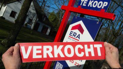 Meeste woningen in jaren verkocht vorig jaar
