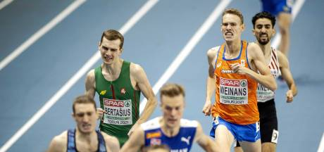 Nijmeegse atleet Weinans strandt op EK in series