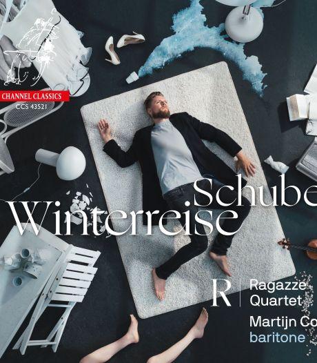 Koude rillingen bij aangrijpende 'Winterreise' met strijkkwartet