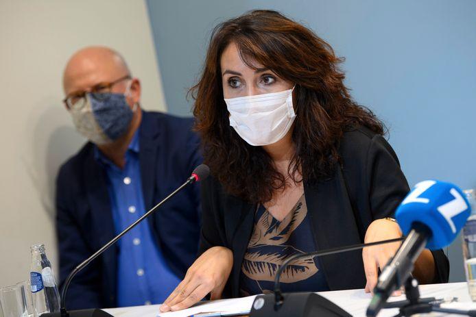 Christie Morreale, ministre wallonne de la Santé (PS).