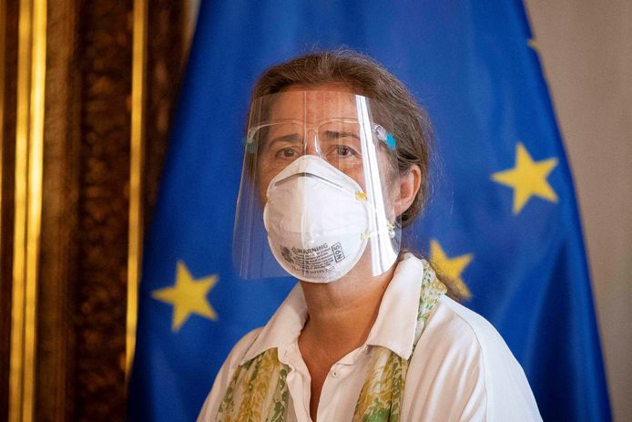 Isabel Brilhante Pedrosa, EU-ambassadeur in Venezuela, kreeg gisteren 72 uur de tijd om het land te verlaten.