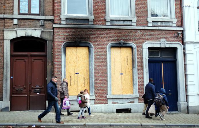 Het huis waar de politie binnenviel