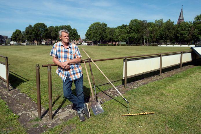 Wim Wagemakers is al jaren terreinknecht van het noodlijdende White Boys.