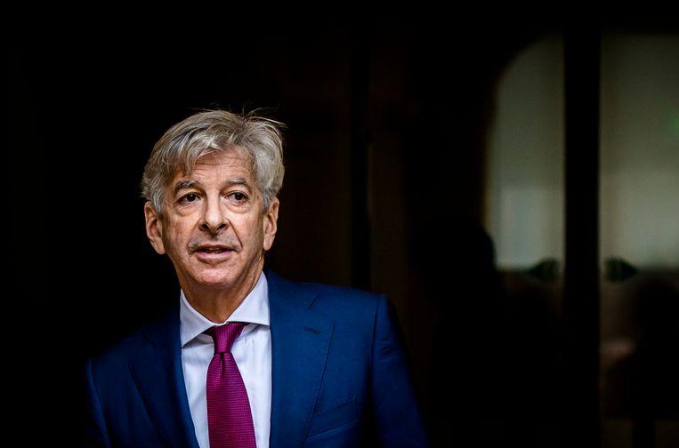 Ronald Plasterk, oud-minister voor de PvdA, voert nu alweer een tijdje een kruistocht tegen de 'rokende puinhoop' van het klimaatakkoord, en vóór kernenergie. Beeld ANP