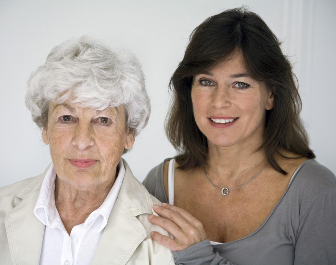Debyy en haar moeder.