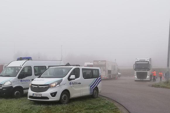 Politie Demerdal-DSZ controleerde samen met de collega's van politiezone Hageland en de douane het zwaar vervoer.