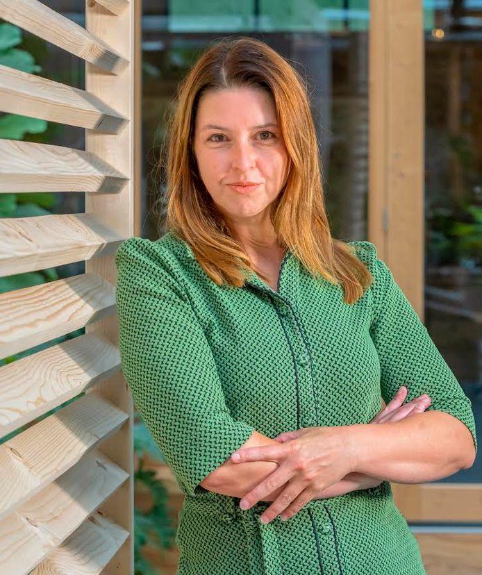 Sylvia Cools is de nieuwe hoofdredacteur van de Stentor.