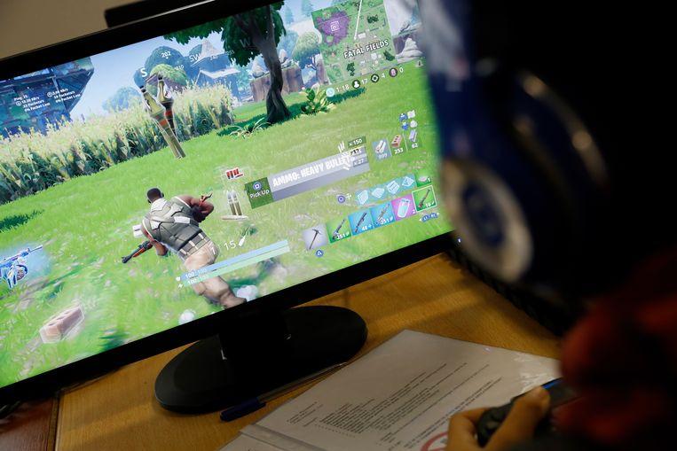 De populaire game Fortnite. 'Het beeld dat gamen iets is voor mensen die liever op hun eentje zijn, is achterhaald.' Beeld ANP
