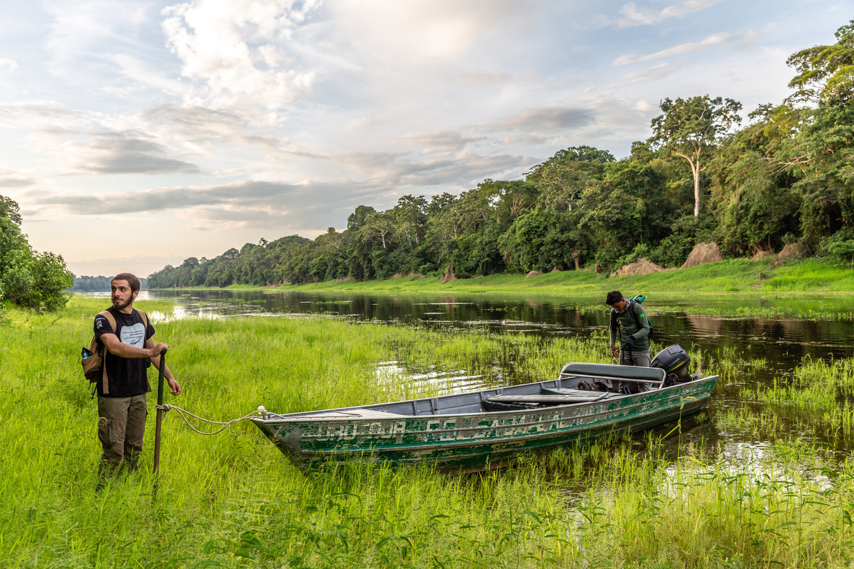 Het Braziliaanse natuurreservaat Mamirauà kun je alleen bezoeken per boot. Beeld Noel van Bemmel