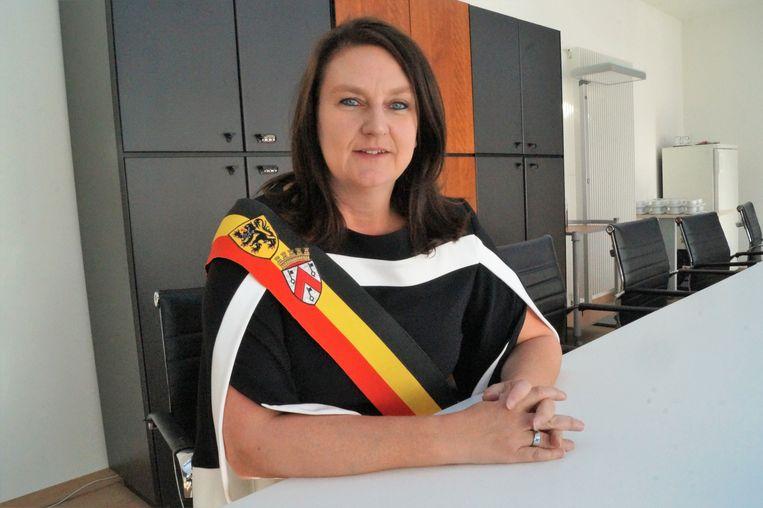 Aftredend burgemeester Els De Rammelaere (N-VA) neemt afscheid van de politiek