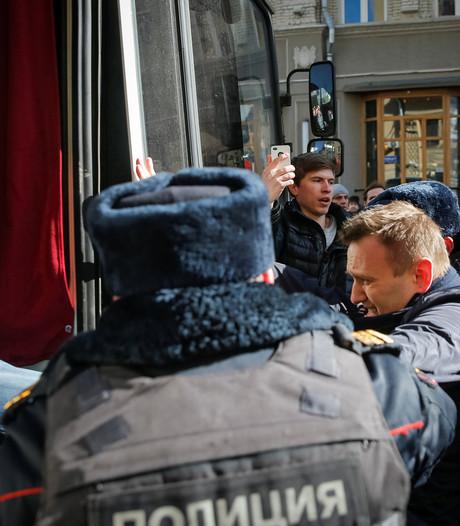 Russische politie pakt oppositieleider Navalny op