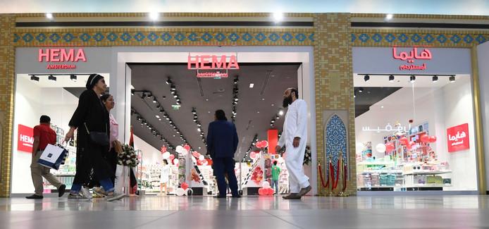 De pas geopende Hema in Dubai.