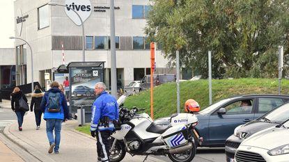 1.300 studenten Vives geëvacueerd