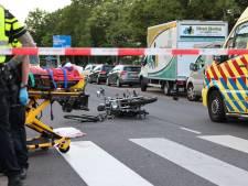 Motorrijder en fietser met spoed naar het ziekenhuis na botsing