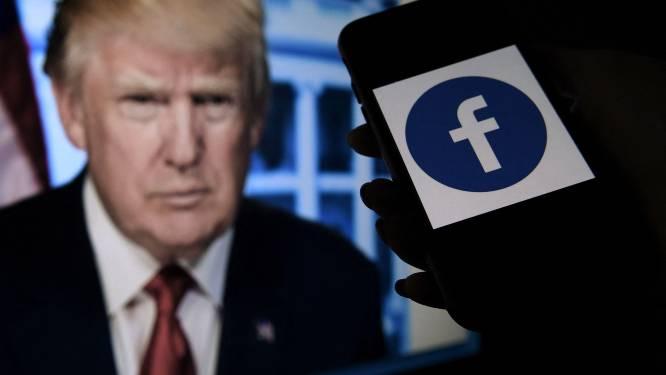 Trump blijft tot begin 2023 geschorst bij Facebook